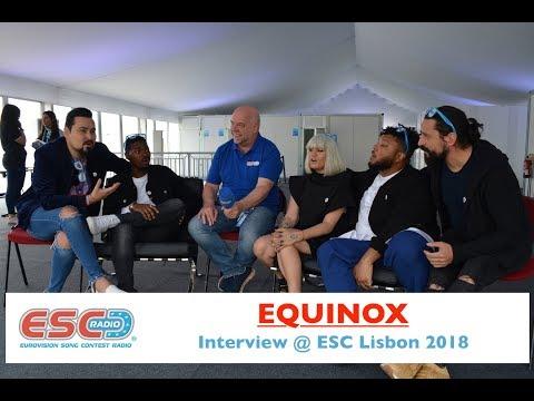 EQUINOX (Bulgaria) - interview Eurovision Lisbon 2018