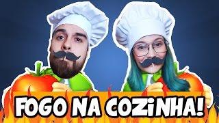 COLOCAMOS FOGO NA COZINHA! - Overcooked (PC)