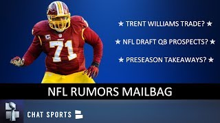 Trent Williams Trade, NFL Draft QB Prospects & NFL Playoff Predictions | NFL Rumors Mailbag
