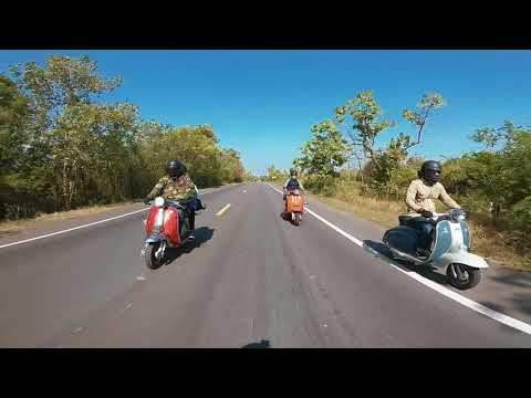 vespa lambretta mods scooter trip thailand Jack's Club สวนผึ้ง ราชบุรี