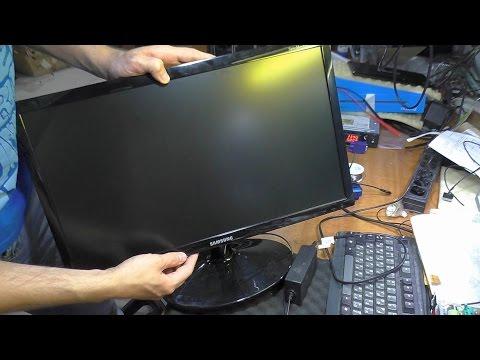 видео: Не включается после грозы. Монитор samsung s22b300b. РЕМОНТ