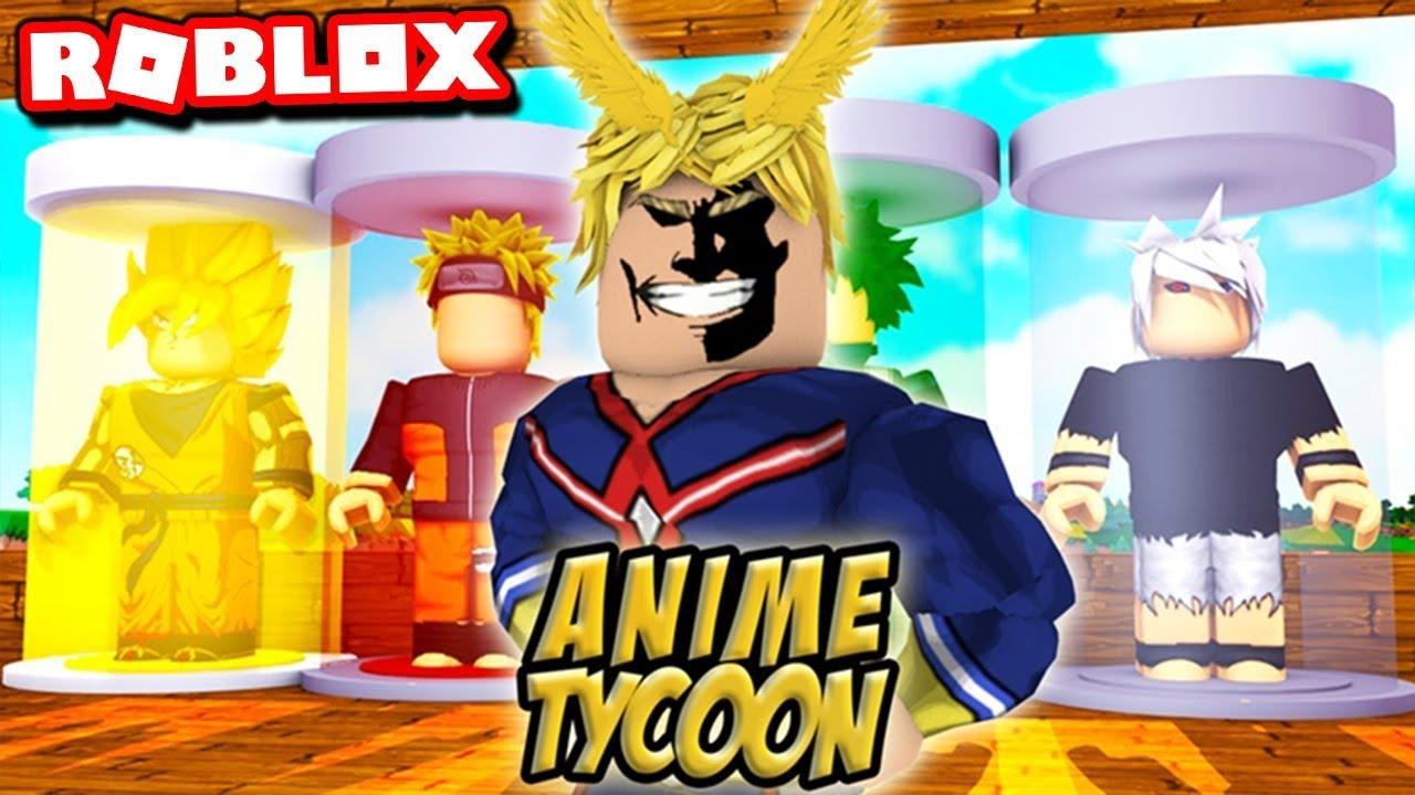 I Became ALL MIGHT In ROBLOX ANIME TYCOON!