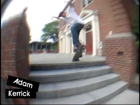 Adam Kerrick for Invasion Skateboards