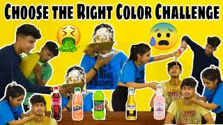 Choose The Right Color Challenge Gone Very Wrong 😱🥺😭   College Droppers