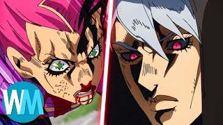 Top 10 des COMBATS entre MÉCHANTS dans les animes