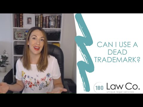Can I Use a Dead Trademark? - All Up In Yo' Business