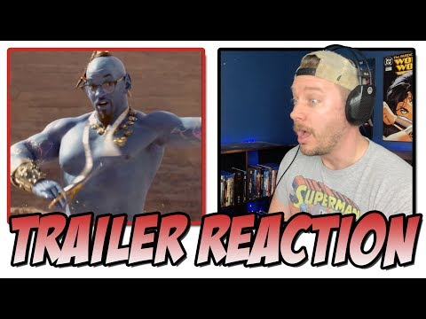 Disney's Aladdin Official Trailer REACTION!