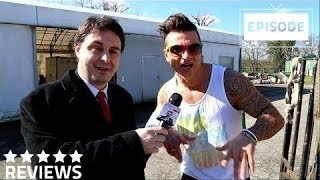 Andrea Diprè incontra il BodyBuilder Fede Rossi Frankie Commando di Forlì