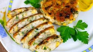 Рубленные котлеты из курицы с сыром. Готовим простые рецепты от wowfood.club