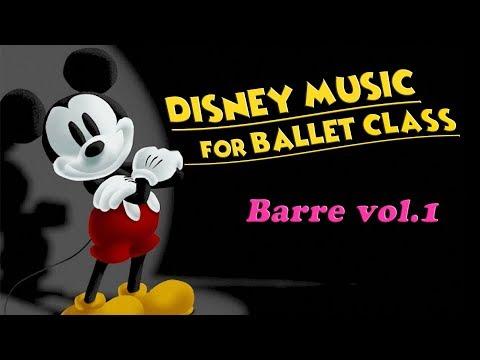 Disney Music for Ballet Class BARRE ~ Stretch, Plie, Tendu.