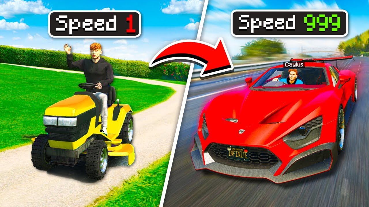 FASTEST vs SLOWEST Super Cars In GTA 5 RP.. (Mods)