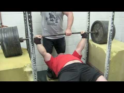 Travis Bell - Foam Benching