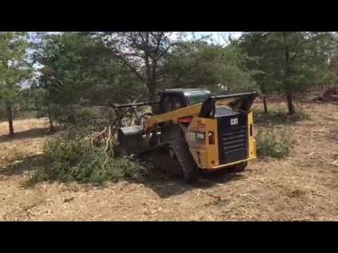 JR Landworks - Forestry Mulching, Land Clearing & Land Management. Cat 299D Forestry Mulcher