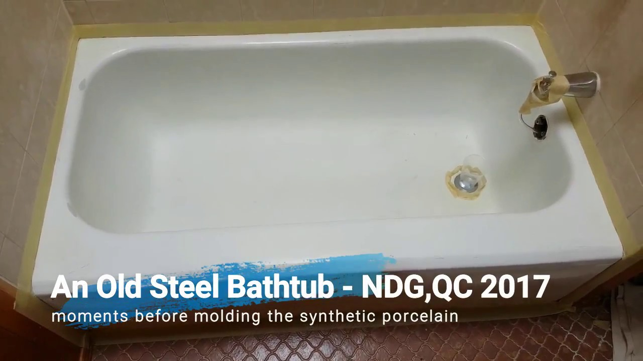 Permanent Bathtub Reglazing - ECO-CASTING Synthetic Porcelain ...