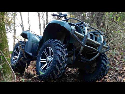 Atv Yamaha Grizzly (good battery, won\u0027t start fix!!) - YouTube
