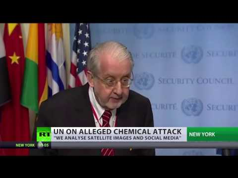 UN unable to decide who's behind alleged chemical attack in Syria