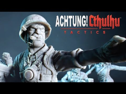 Achtung! Cthulhu Tactics Gameplay PC (New Indie,Strategy Game 2018) |