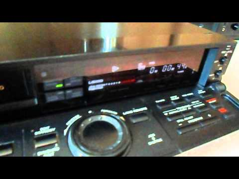 panasonic nvf65 hq vcr hifi stereo 1992 doovi