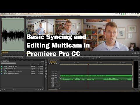 Basic Multi Camera Syncing and Editing in Premiere Pro CC