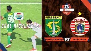 Persebaya Surabaya (1) vs (1) Persija Jakarta - Goal Highlights | Shopee Liga 1
