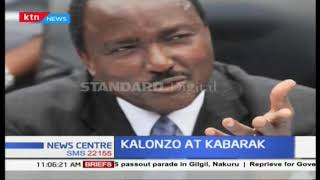 Kalonzo at Kabarak : Moi urges leaders to focus on peace