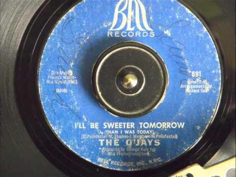 THE O'JAYS - I'LL BE SWEETER TOMORROW