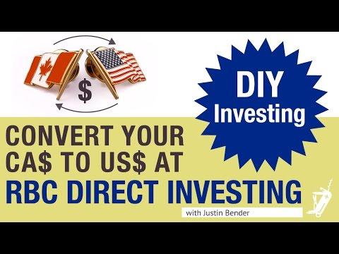 Norbert's Gambit at RBC Direct Investing | DIY Investing with Justin Bender