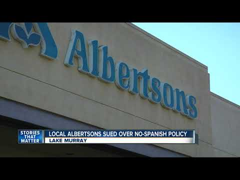 San Diego Albertsons Grocery Store Sued Over No-Spanish Policy