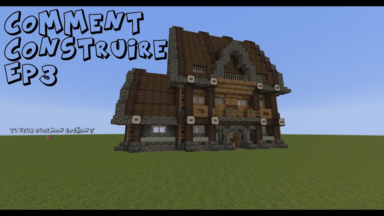 Minecraft Comment Construire Medieval Ep3 Youtube