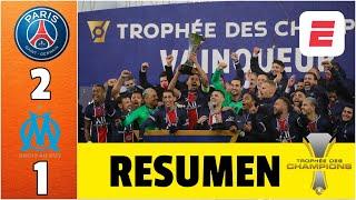 PSG 2-1 Marsella. Goles de Neymar e Icardi hacen campeón a Pochettino | Supercopa de Francia