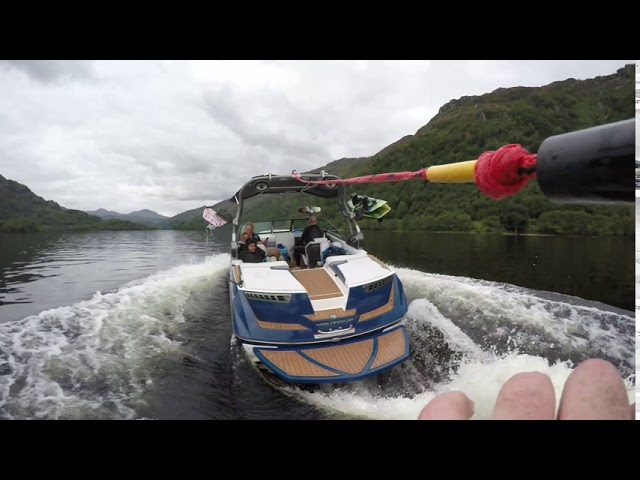 Wakeboarding & Wakesurfing Loch Lomond August 2020 : Super Air Nautique