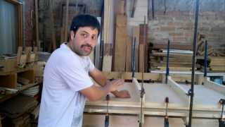 Como hacer puertas de interior en MDF y bastidor de madera 1° parte