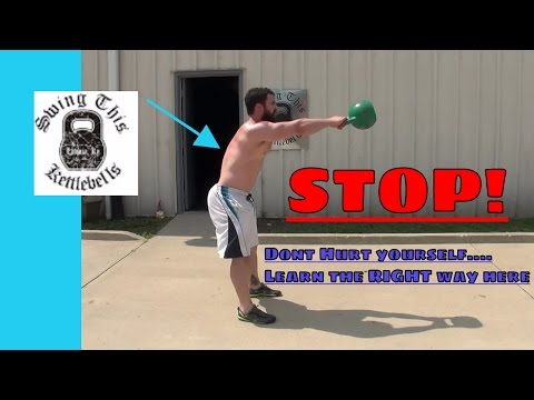 FIX Your KETTLEBELL SWING FORM : Five Tips to Prevent Injury