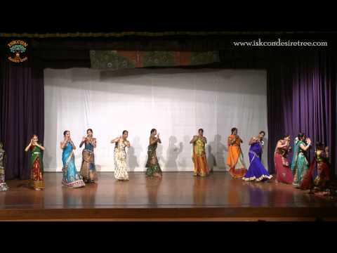 Dance on Jaya Madhava Madan Murari by Matajis at ISKCON Juhu on 28 September 2014