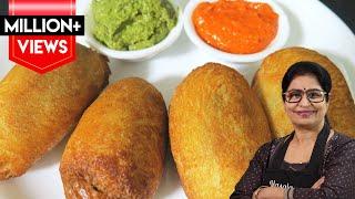 बिना फ्राई किये बनाये टेस्टी व क्रिस्पी ब्रेड रोल || Crispy Bread Roll Recipe ||