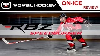 ccm rbz speedburner stick on ice review