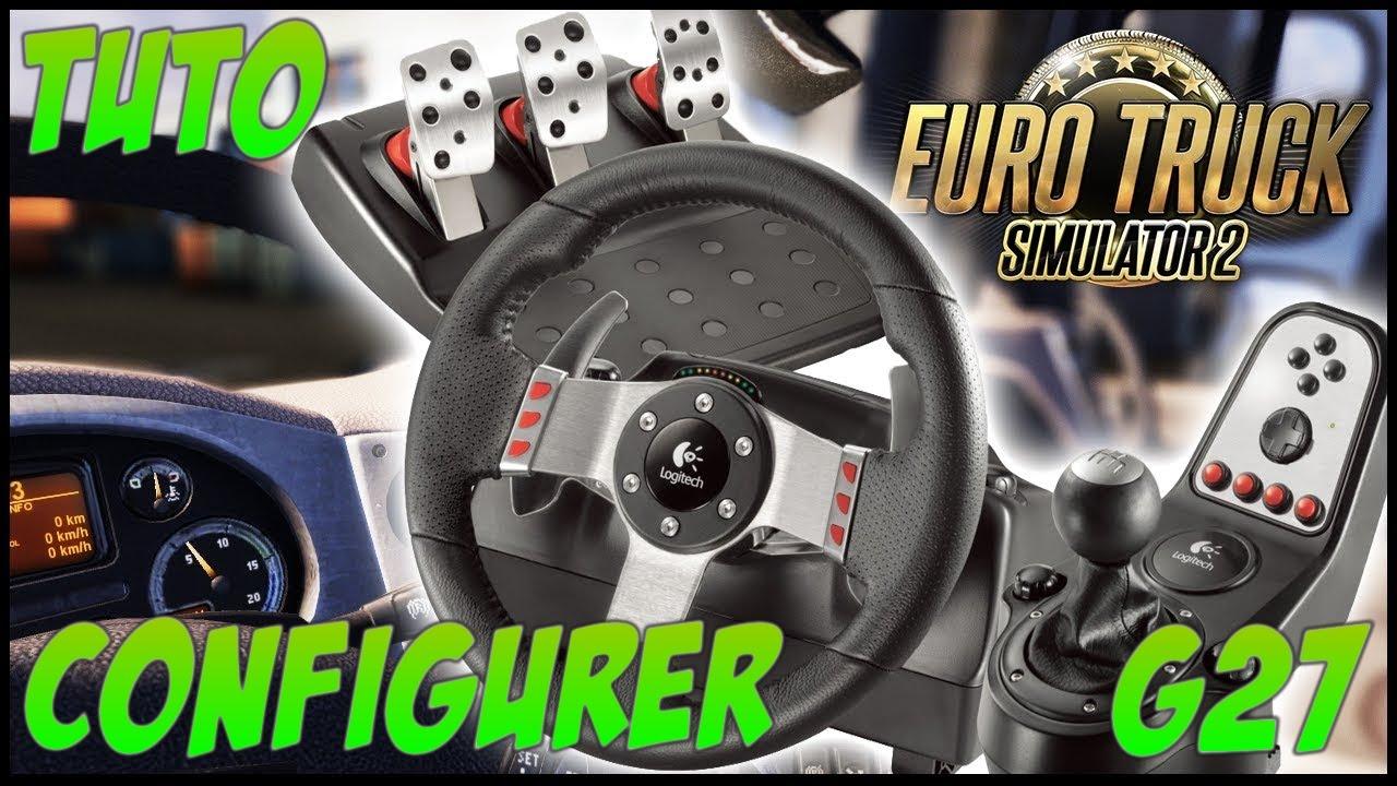 tuto configurer un volant euro truck simulator 2 g27 youtube. Black Bedroom Furniture Sets. Home Design Ideas