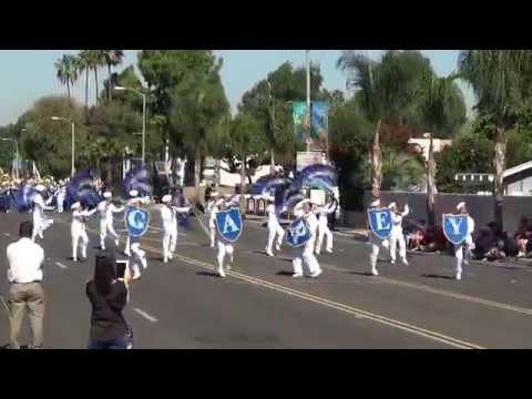 Garey HS - Anchors Aweigh - 2014 La Palma Band Review