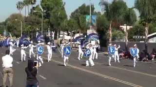 Garey HS - Anchors Aweigh - 2014 La Palma Band Review