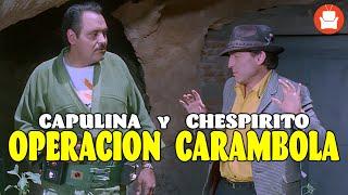 Capulina y Chespirito en Operación Carambola - Película Completa