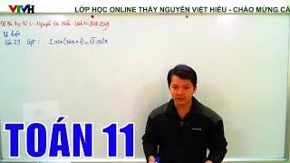 [Toán 11] Đề thi học kì 1 -  THPT Nguyễn Gia Thiều  - Phần tự luận -  Năm học 2018 -  2019