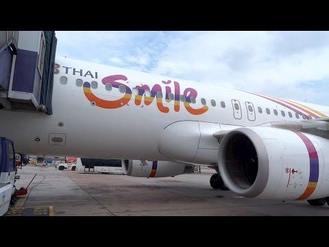 Flight Report 2 - Thai Smile   Smile Plus (Business) Class   WE327   BKK-GAY