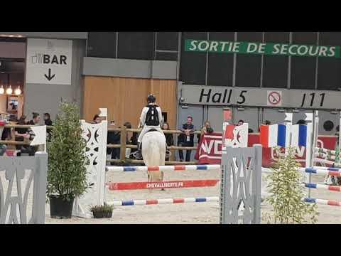 EBZ CSO PARIS Sasha et Lily P1 seconde manche