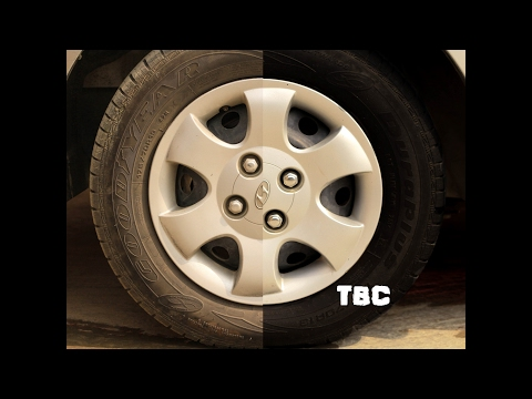 How to clean your Wheels Tyres?