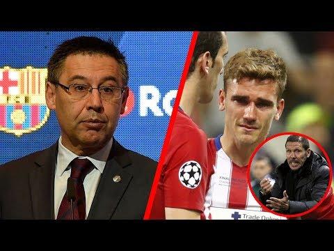 Se revela la razón por la que Griezmann NO ha llegado al Barcelona