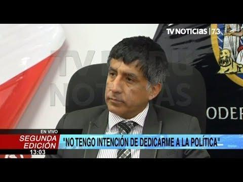 """Richard Concepción Carhuancho: """"Mil veces prefiero que me maten a que me deshonren"""""""