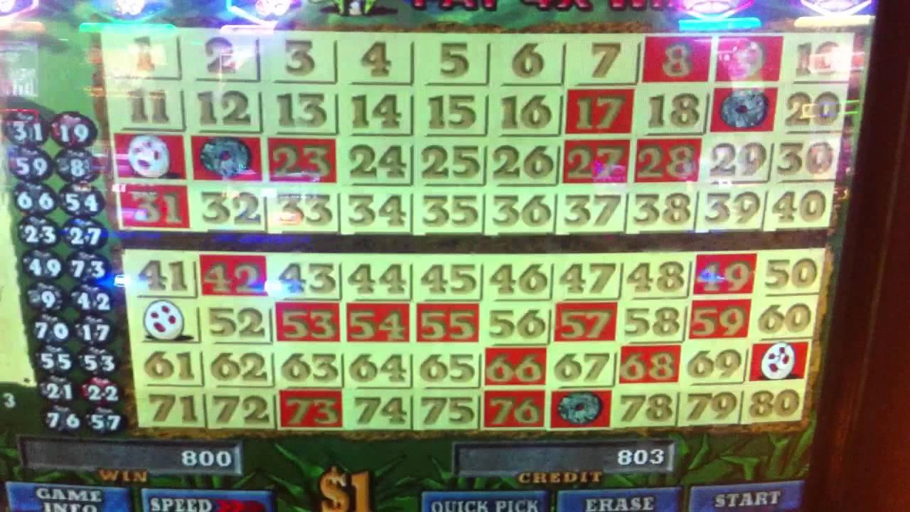 Keno slot machine vegas 32 casino