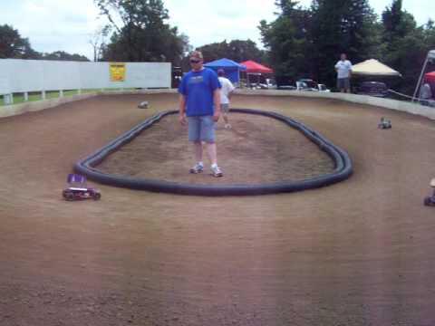 Checkered Flag Raceway second round quailfer heat 2
