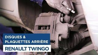 Changer les Disques et Plaquettes de frein avant sur Renault Twingo 1