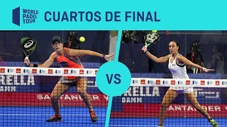 Resumen Cuartos de Final Triay/Sainz Vs Icardo/Hernández Santander WOpen